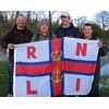RNLI Charity Match 23 03 08 from the left 4th Dave Jarvis  2nd Lee Carver  1st Warren Martin and 3rd Paul Gardiner