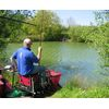 Rob Lincoln on Day 2 of the 5 Day festival 2008 fishing Colton peg 30 with 180lb 8ozs