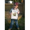 Ethan Bradford with his certificate  after catching lots of fish from our Match Lake  which was presented to him at the presentation of the 5 Day festival 2008