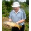 Norman Phillips first carp caught in July 2008 on the Pleasure Lake