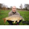 Feb 09 Michael with 15lb Common from the Pleasure Lake