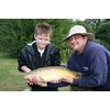 Sept 09 Robbie with Angling Coach Mark Angling4Success